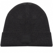 Product Image for BOSS Casual Foxx Beanie Hat Black
